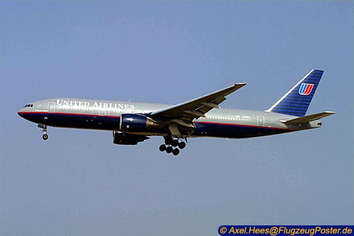 <United Airlines / Boeing 777-200