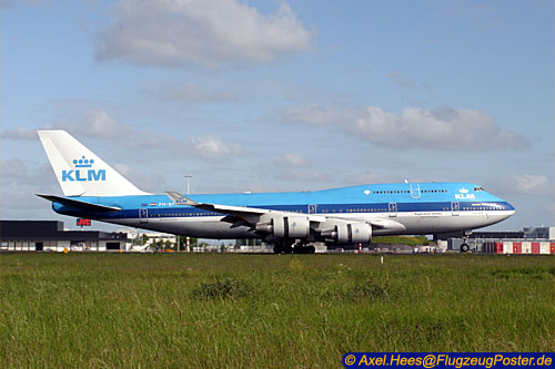 <KLM Royal Dutch Airlines / Boeing 747-400