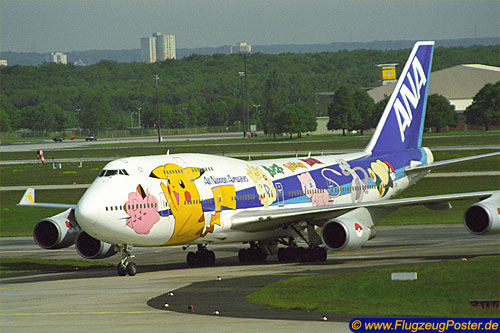 <ANA All Nippon Airways / Boeing 747-400