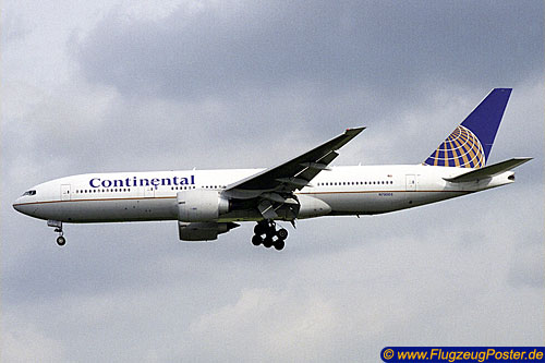 <Continental Airlines / Boeing 777-200