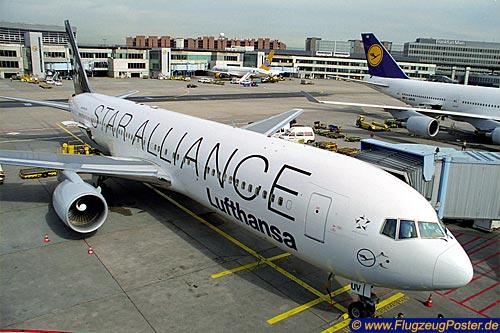 Lufthansa Boeing 767 300 Poster Lufthansa Boeing 767 300 D Abuv
