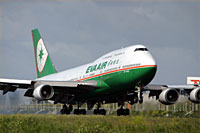 EVA Evergreen Airways / Boeing 747-400