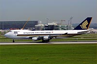 Singapore Airlines Cargo / Boeing 747-400F