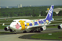 ANA All Nippon Airways / Boeing 747-400