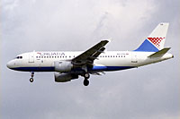 Croatia Airlines / Airbus A319-100