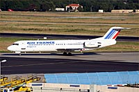 Air France / Fokker 100