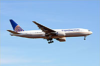 Continental Airlines / Boeing 777-200