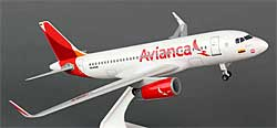 Avianca - Airbus A319 - 1:150 - PremiumModell