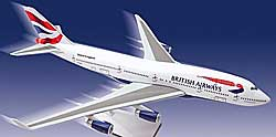 British Airways - Boeing 747-400 - 1:250